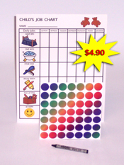 Child's Job Chart-Kit